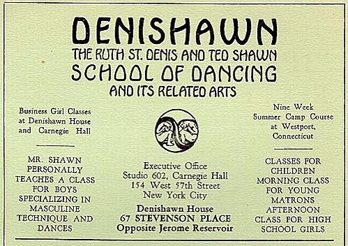 Denishawn School Opens