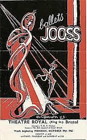 Jooss establishes a company known as Ballets Jooss