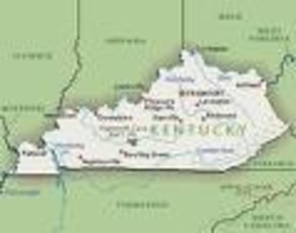 I was born in Benton, Kentucky