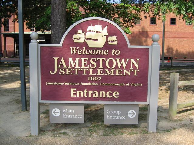 Jamestown Settlement.