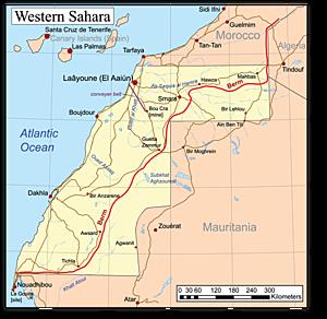 In 1976 werd de Westelijke Sahara door Marokko geannexeerd