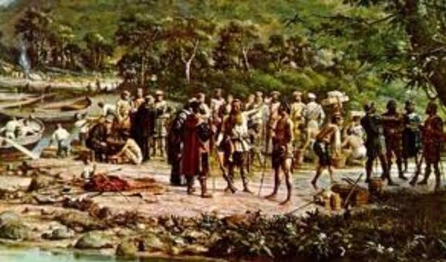 Indios são vítimas de doenças como sarampo, coqueluche, varíola,  trazida por portugueses
