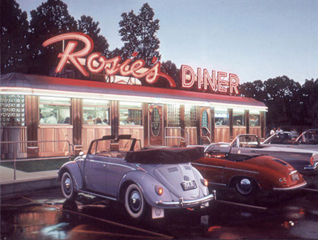 Rosie's Diner 4th event