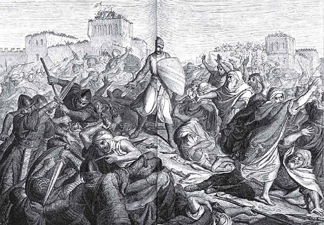 El Cid conquista la Taifa de Valencia.