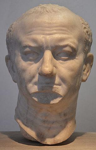 Vespasian dies