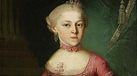 María Anna Mozart timeline