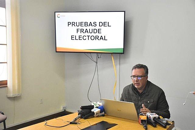 CC muestra irregularidades y asegura que son pruebas de fraude electoral