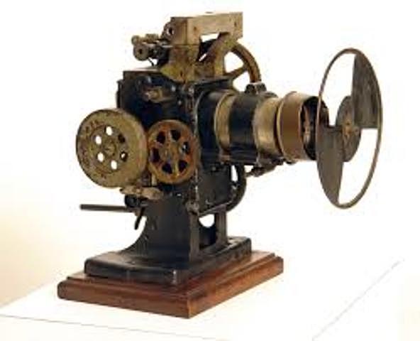 Primer proyector (Zoopraxiscopio)