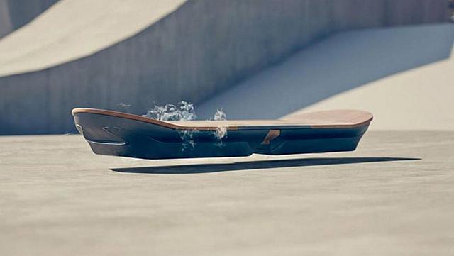 El skate volador de Lexus