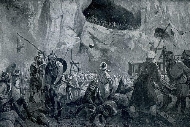 Batalla de Covadonga. Se forma el reino de Asturias