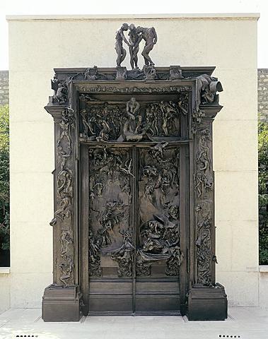 Las puertas del Infierno de Rodin