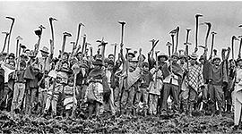 LINEA DE TIEMPO DEL MOVIMIENTO SOCIAL CAMPESINO EN COLOMBIA DURANTE EL SIGLO XX timeline