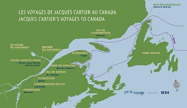 Premier voyage de Jacques Cartier (France)