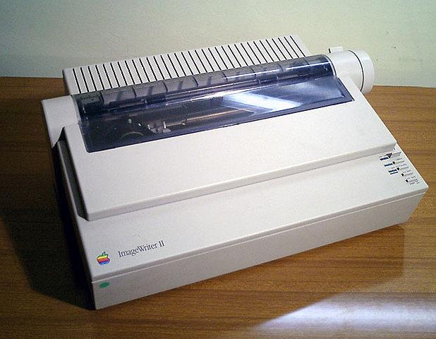 Apple Computer - ImageWriter (1983-1984)