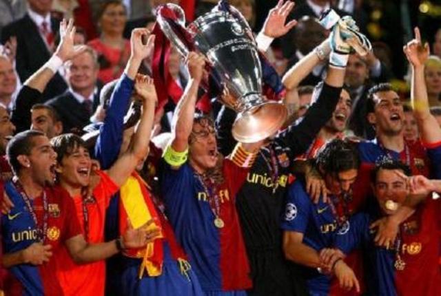 FC Barcelona wins the Big Triple (Soccer)