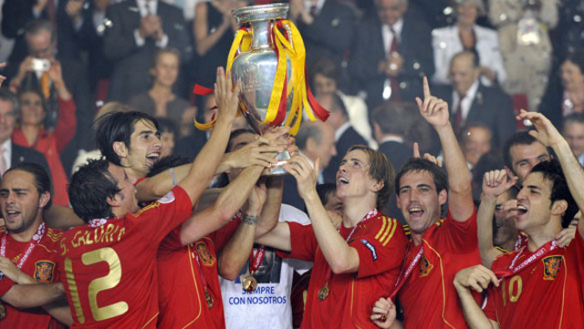 The first one for Spain (Soccer)