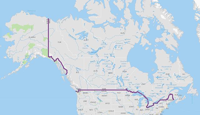 US-Canadian Border Fixed