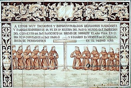 Primeros años de evangelización: franciscanos
