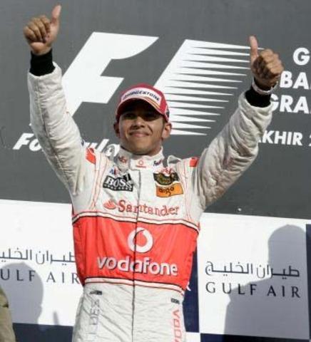 The final lap of Lewis Hamilton (Auto racing)