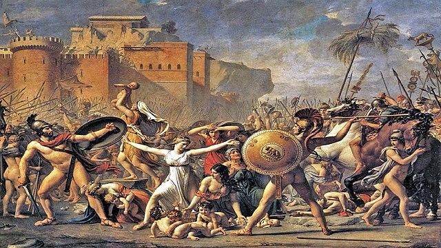 """""""El rapte de les Sabines"""" de David"""