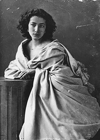 Retrato de Sarah Bernhardt - Nadar