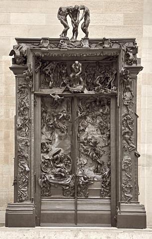 Las puertas del infierno Rodin