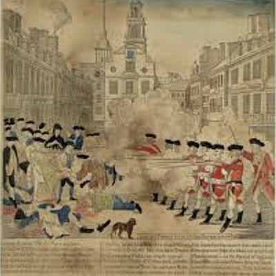 British Legislation, Colonial Relations, and Road to Revolution timeline