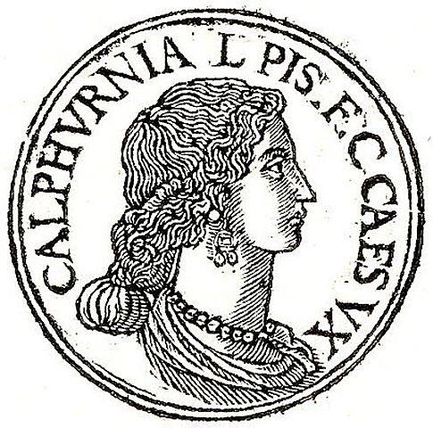 Married Calpurnia Pisonis