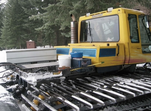 A New Snow Groomer Is Introduced To America