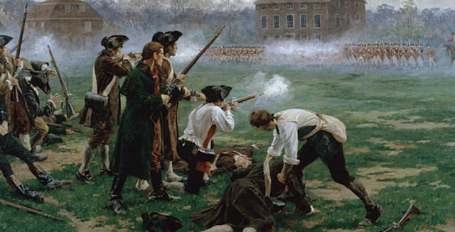 The Battle of Concord/ The Shot Heard Round the World