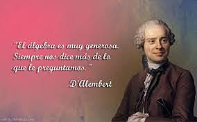 D'Alembert, Juan le Rond