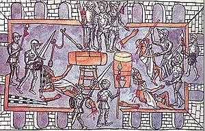 Matanza del templo mayor.