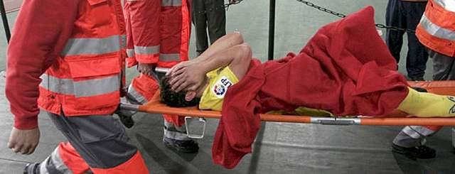 Primera lesión importante