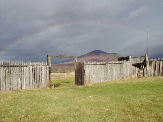 Fort Loudoun built