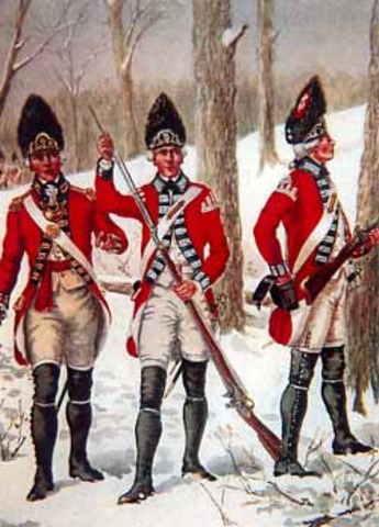 British army relieve Fort Loudoun