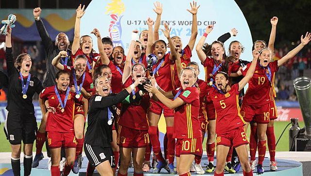 La selección sub-17 se proclamó campeona del mundo