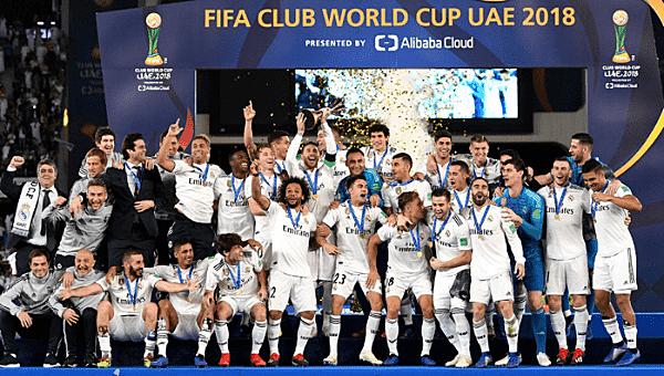 Los Blancos logran ganar el Mundial de Clubes
