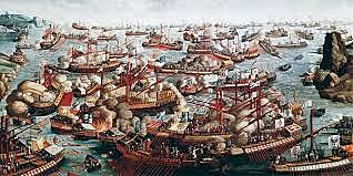 Batalla de Lepant.Una aliança cristiana atura l'expansionisme turc pel mediterrani oriental