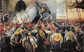 Revolució popular contra els soldats allotjats. Corpus de Sang. Revolució política. Inici de la Guerra dels Segadors.