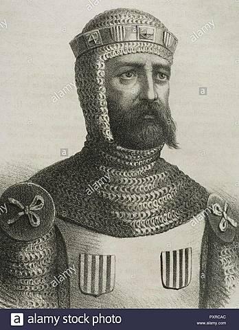 Vifredo el Belloso, primer conde independiente de Barcelona.