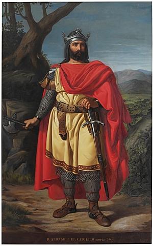 Alfonso I de Aragón conquista Zaragoza