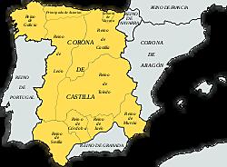 Separación de la Corona de Castilla y de León.