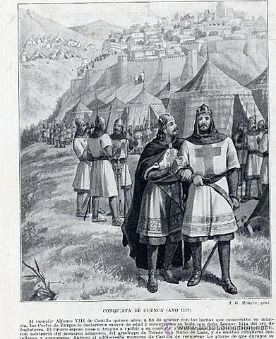 Conquista de Cuenca por la Corona de Castilla.