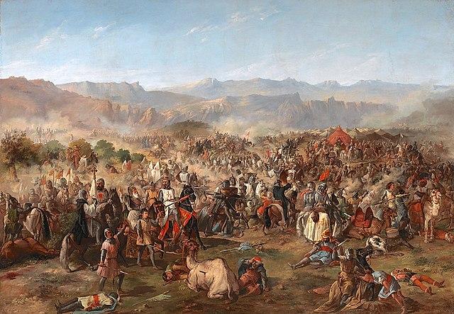 Derrota de los almohades en las Navas de Tolosa ante la coalición cristiana