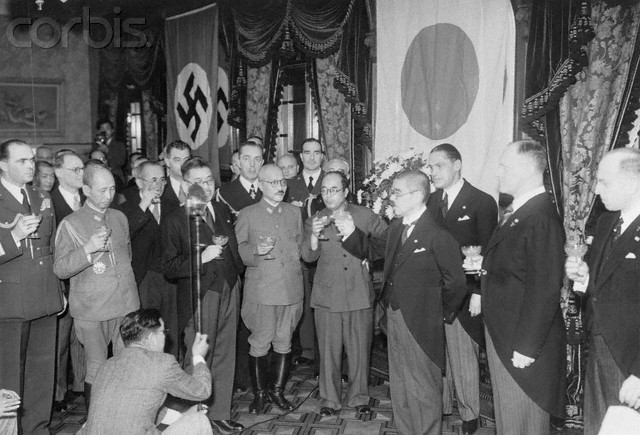 Axis  pact Is Singned