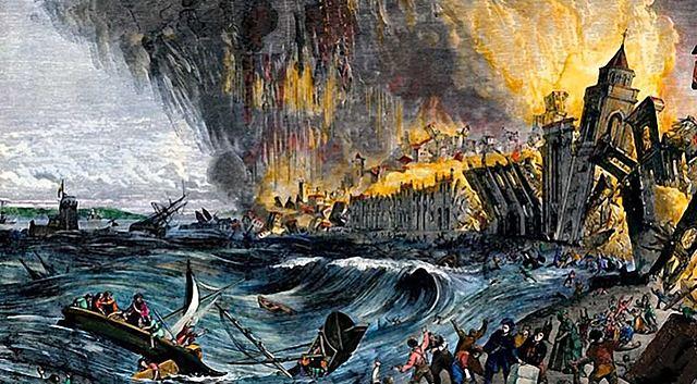 Great Lisbon Earthquake of 1755 - Lisbon, Portugal