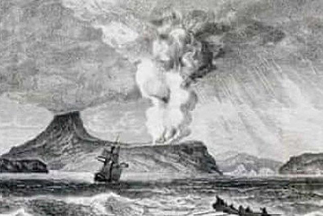 Krakatau Volcano Tsunami of 1883 - Indonesia