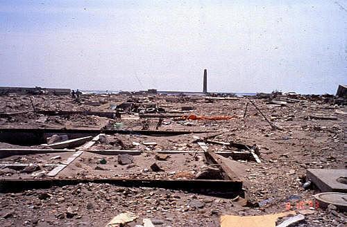 1993 Hokkaido Earthquake - Sea of Japan
