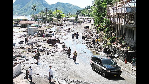 2009 Samoa Earthquake and Tsunami