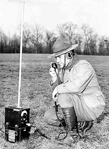 El teléfono en los Radios Portátiles